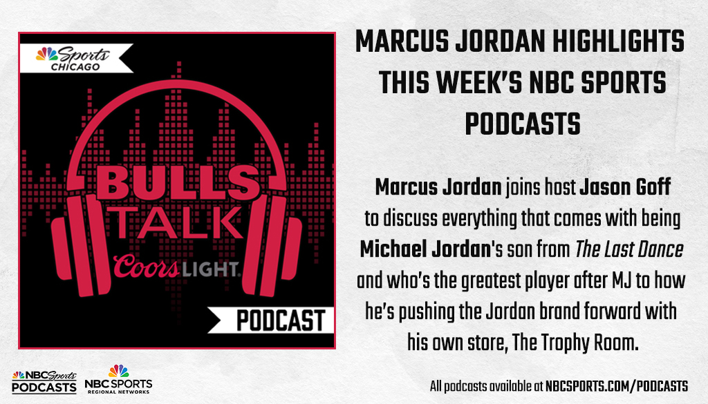 Whats it like being the son of the most famous athlete in the world? @HEIRMJ goes 1-on-1 with @NBCSBulls Talk host @Jason1Goff to discuss everything that comes with being Michael Jordans son! 🎧 For full episode, listen here: art19.com/shows/bulls-ta…