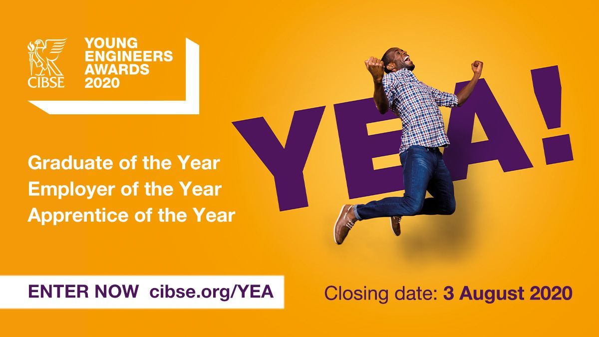 Nominations for the CIBSE Young Engineers Awards #CIBSEYEA are open! 🏆 Nominate someone you think deserves recognition. #ApprenticeOfTheYear – NEW to 2020: https://t.co/ABXPfUIlTu #GraduateOfTheYear: https://t.co/LQWomavSbn #EmployerOfTheYear: https://t.co/Df06ojXRFG https://t.co/KcYsMU3Y5v