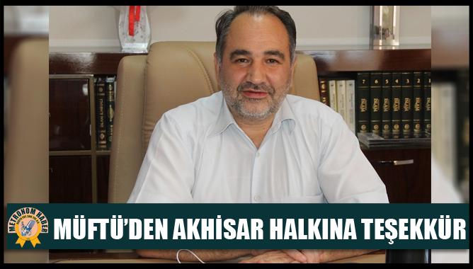 Müftü'den Akhisar Halkına Teşekkür https://t.co/kquDtFlhyq #akhisar https://t.co/tPURTYW7qF