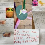 Image for the Tweet beginning: Lovely home learning from Reception