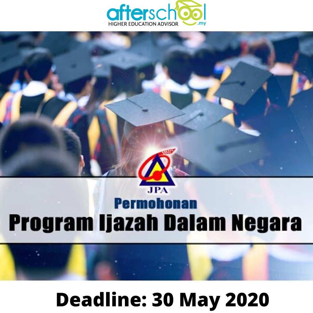Afterschool My On Twitter Good News Jpa Is Back With Their Program Ijazah Dalam Negara Pidn Inviting Undergraduate Students In Public Universities Politeknik Premier And Government Linked Universities Glu To Apply Before May