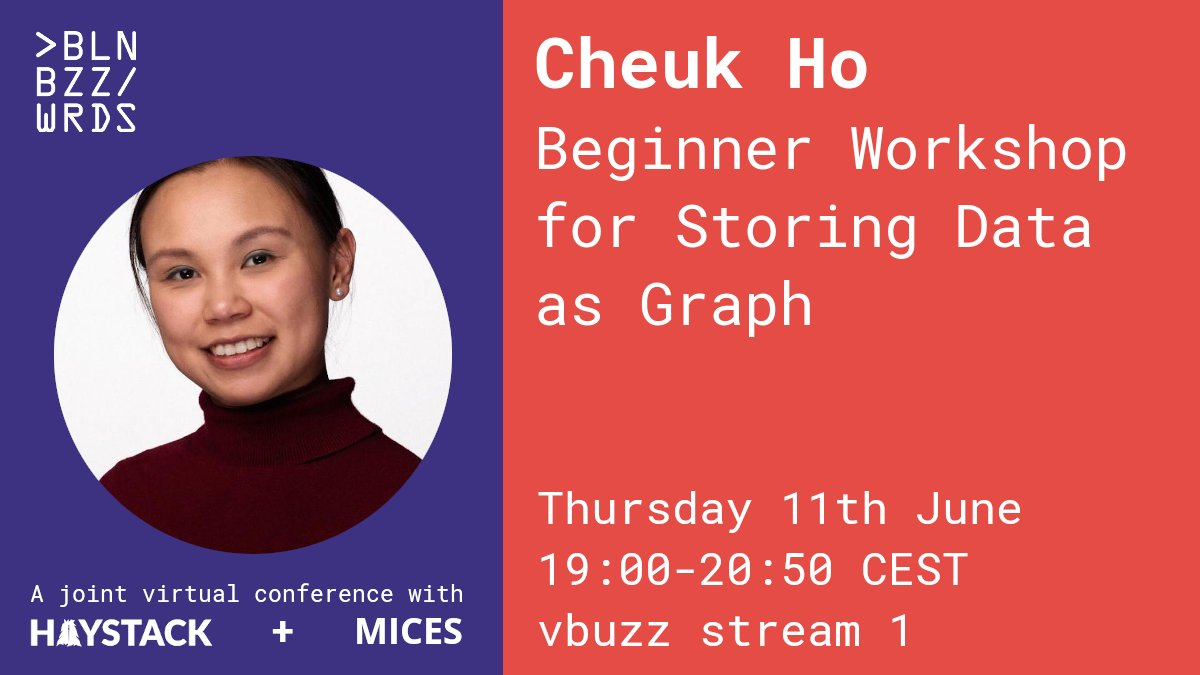 Learn how to create a graph of bike journeys with bike hire data, creating a schema and doing proper data wrangling to insert the data & how write your own script to create a graph to analyse the Dublin voting data with @cheukting_ho. Register here: berlinbuzzwords.de/session/beginn…