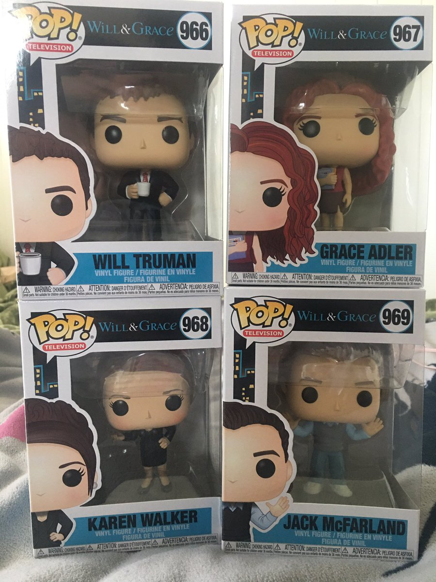 Favourite pop buys so far!   The show may have ended, but these characters live In my heart (now also on my shelf) everyday!  #willandgrace <br>http://pic.twitter.com/nWssG0mL6H