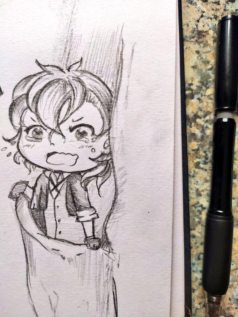 Adventures of pocket size Chuuya   #Chuuya #bungostraydogs #sketch pic.twitter.com/522AGyj6q8