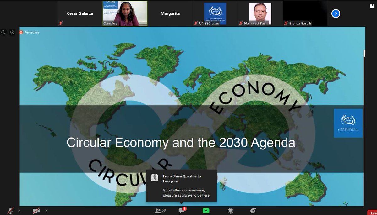 En clase miércoles sobre #economiacircular #circulareconomypic.twitter.com/m6uvWdX8eY