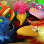 Image for the Tweet beginning: Wonderful, my box of puppets