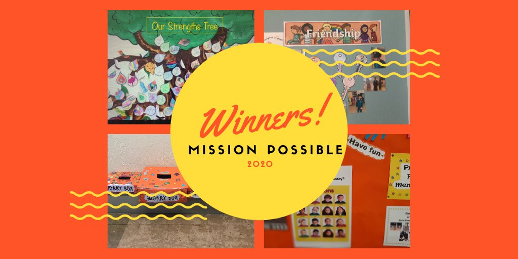 🌟Wow!! We are absolutely over the moon! What an amazing piece of news!   A special congratulations to our student council who worked very hard on our worry boxes, along with Ms Casey, Ms Quinn, Ms O'Sullivan and Ms Barry! 🌟  @walkinmyshoes #missionpossible