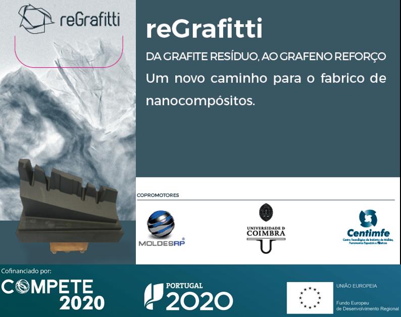 #reGrafitti projeto da #moldesRP c/ apoio @FEEICOMPETE2020 foi sucesso e eis o roadmap: Da Grafite resíduo ao Grafeno reforço, uma nova abordagem pª fabrico de nanocompósitos na #newsletter 253 https://bit.ly/3d3gtOf #compete2020 #portugal2020 #EUinmyRegion #economiacircular pic.twitter.com/biO2L39bl6