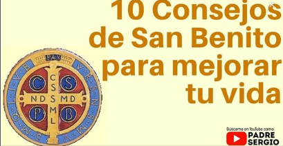 10 #Consejos de San #Benito para mejorar tu vida.  https://www.youtube.com/watch?v=rWkJD4O3kAk…pic.twitter.com/g0bfcdriMz
