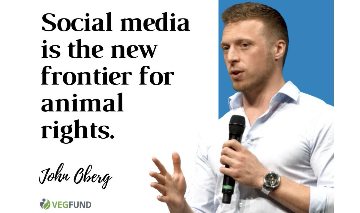 """""""Social media is the new frontier for animal rights.""""  RT if you agree! ✅ https://t.co/HDJfGY3Ow3"""