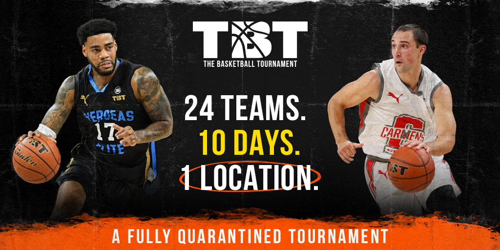 🚨Introducing the new TBT 2020🚨  24 Teams 10 Days 1 Quarantined Location  The most intense week and a half in tournament history‼️ https://t.co/Kdr4gihVWx