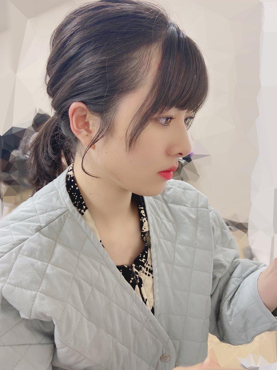 【12期 Blog】 普段よりデレ7割減くらい。羽賀朱音: こんばんおやきー本日公開になりました、→ハロ!ステ…  #morningmusume20