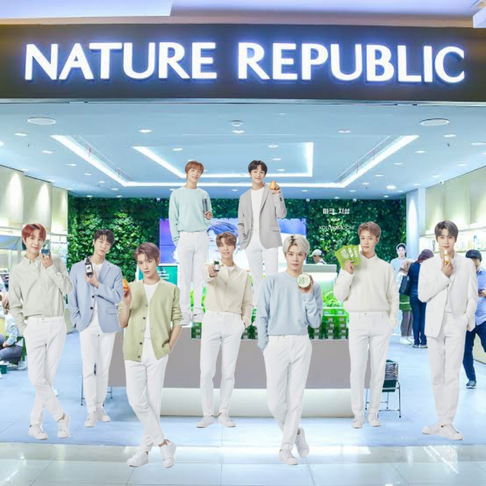 NCT 127 x Nature Republic  #NCT127  @NCTsmtown_127<br>http://pic.twitter.com/nYUt3a57n9