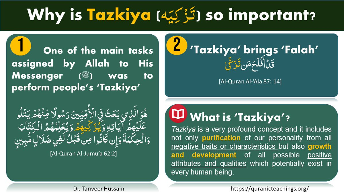 Why is tazkiya so important? #islam #quran #personal development pic.twitter.com/BmbnkzYkUf