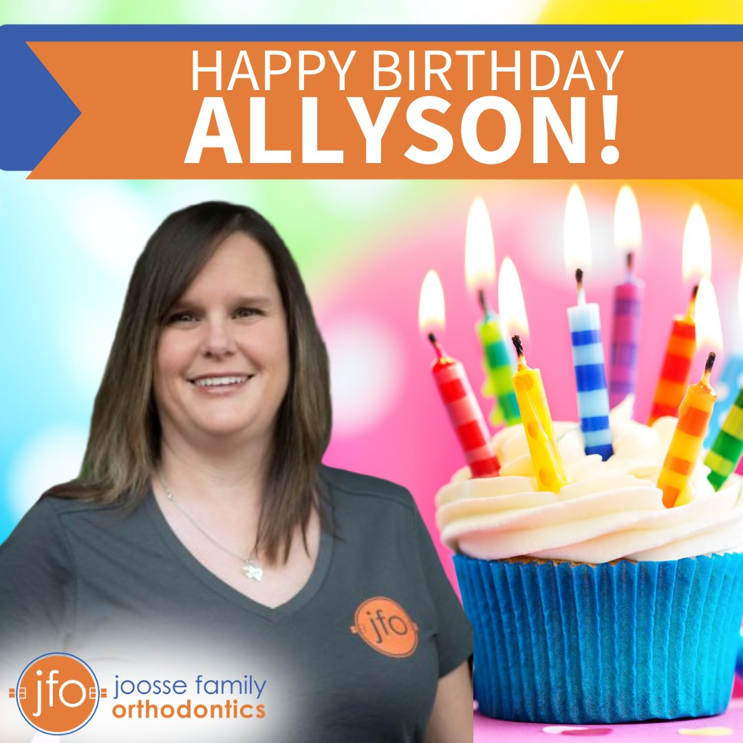 Happy Birthday to our wonderful treatment coordinator, Allyson! We love working with you and hope you have the best birthday ever!  #HappyBirthday #JFO #PartyTime pic.twitter.com/bd25tqknuG