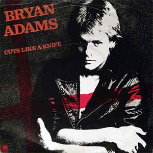 #OnThisDay in 1983, Bryan Adams released Cuts Like A Knife as the 2nd single from the album of the same name. It peaked at #12 on the Canadian singles chart and #15 on the Billboard Hot 100. #80smusic
