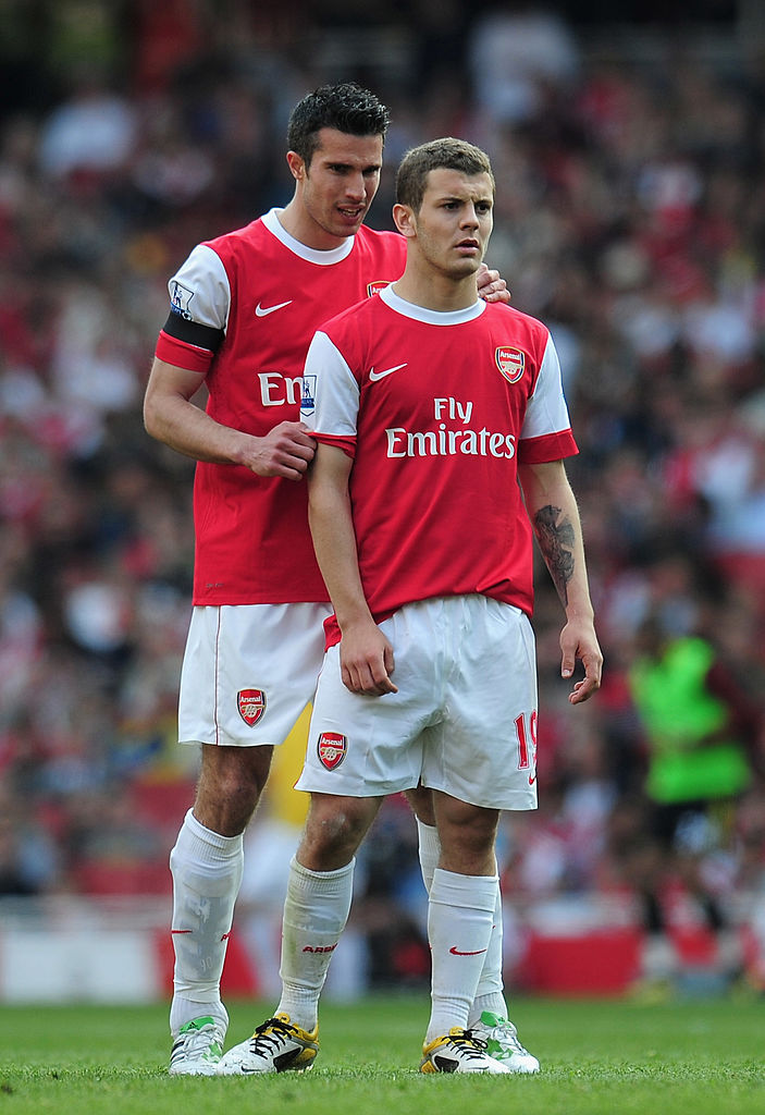 When Robin van Persie left, yeah, I was devastated. I think he had just scored 30 goals the season before and he was our captain, he was massive. Especially when he went to United. It was like, 'argh' - Jack Wilshere