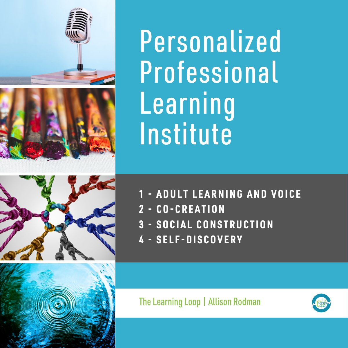 I want to be on-site with all of you, but this is the next best thing.  🎞️ Here is a preview of my @Eduplanet21 Institute focused on #personalizedPL:  https://t.co/F5wriYuRjA   💻 Click here to go directly to the learning paths: https://t.co/hrUN3xBQTJ https://t.co/U6yNMWz6Y8