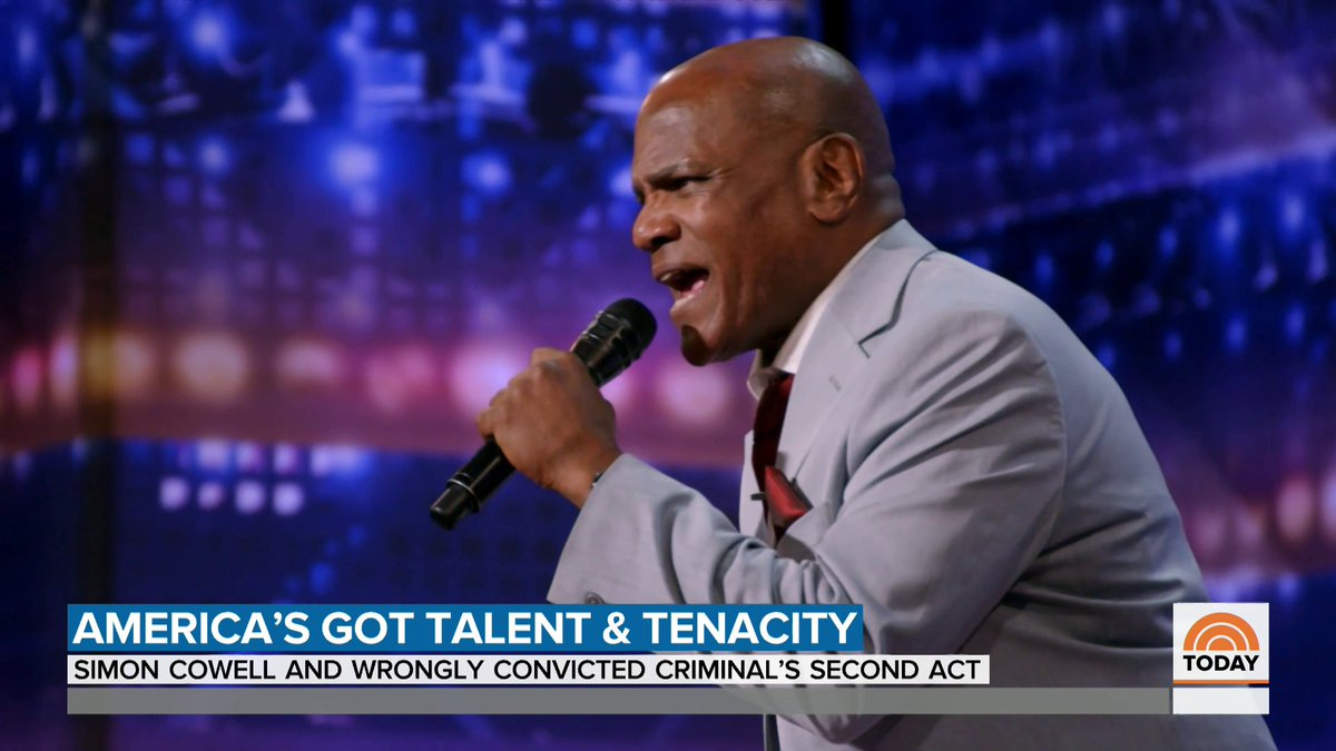 Archie Williams, who was exonerated after 37 years behind bars for a crime he didn't commit, shined on @AGT last night. @NMoralesNBC shares his incredible story.