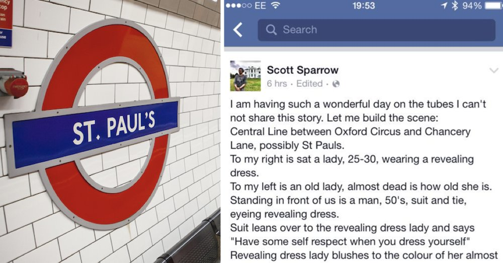 Simply a fabulous tale from the London Underground #recap thepoke.co.uk/2019/05/13/sim…