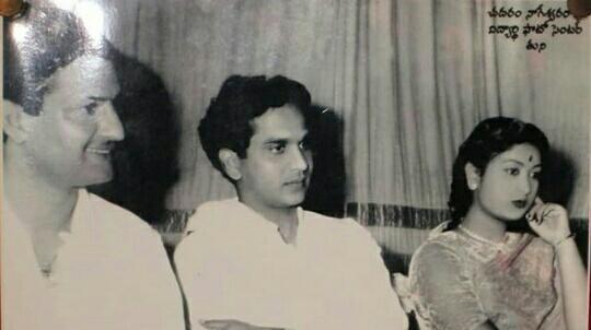 #LegendaryNTRJayanti అన్నగారు, నాగేశ్వర్ రావు garu, సావిత్రి గారు  #rarepic