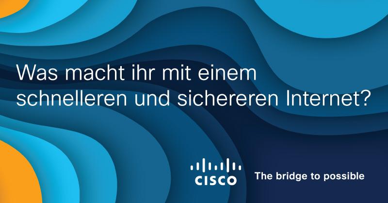 Wir haben das #Internet zugänglich gemacht. Jetzt ist es an der Zeit, es auf das nächste Level zu bringen. Unser Portfolio umfasst #Netzwerklösungen, #Security, #Collaboration aber noch vieles mehr. Wir spannen die Brücke 🌉🌉🌉cs.co/6016G8RVs #Digitalisierung