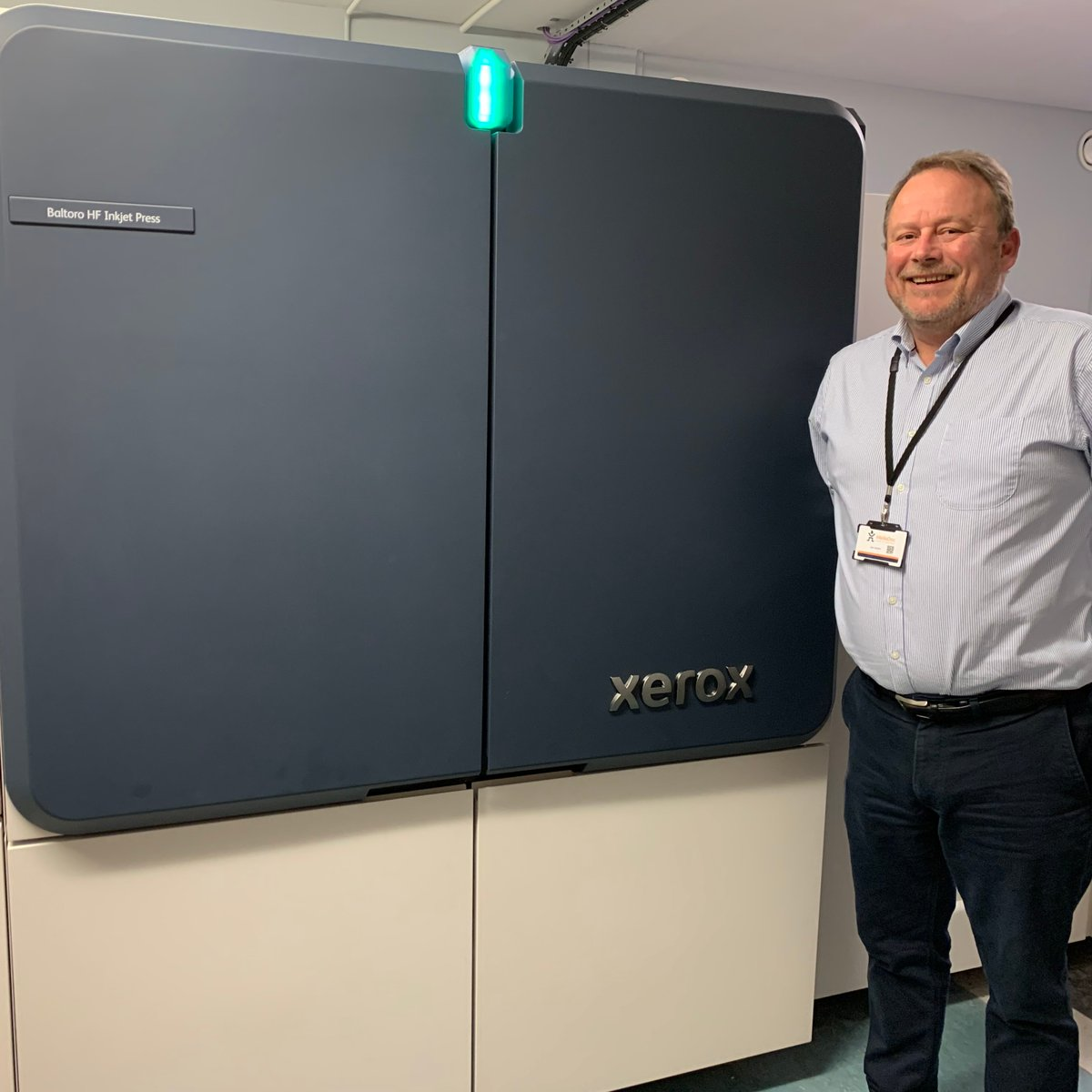 We were the first #mailinghouse in the UK to install the @Xerox #Baltoro meaning your #HybridMail service can print your mail faster than before!  Learn more: https://t.co/H8RLAYNpfq https://t.co/OXiA04ddrL