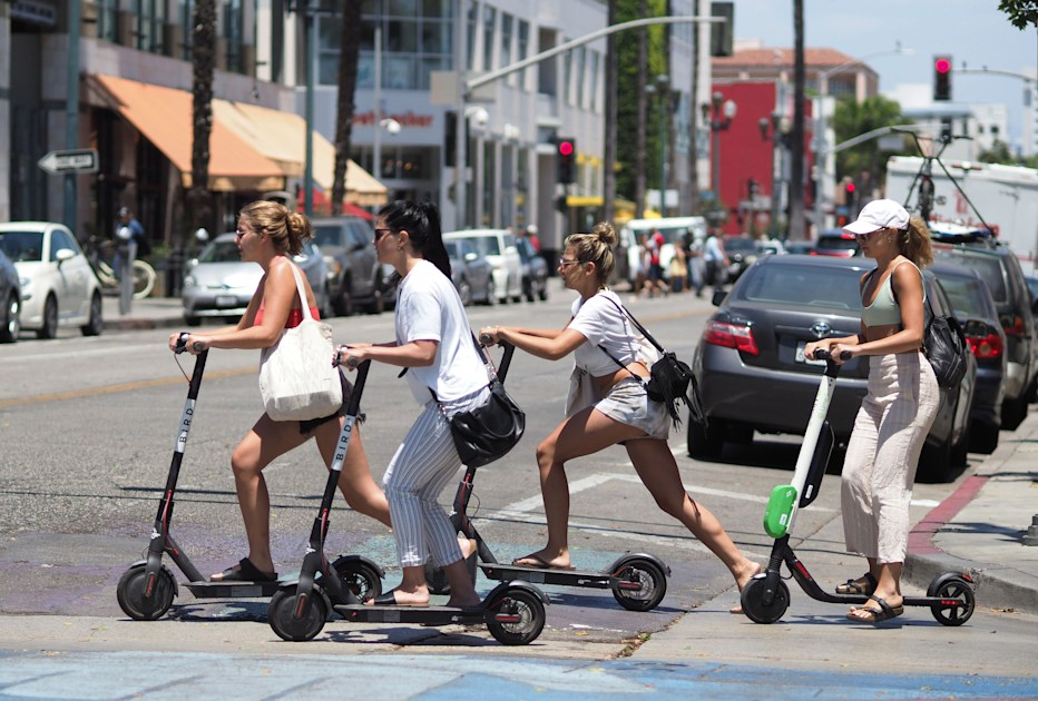 Bird's electric scooters can now be unlocked with Bluetooth