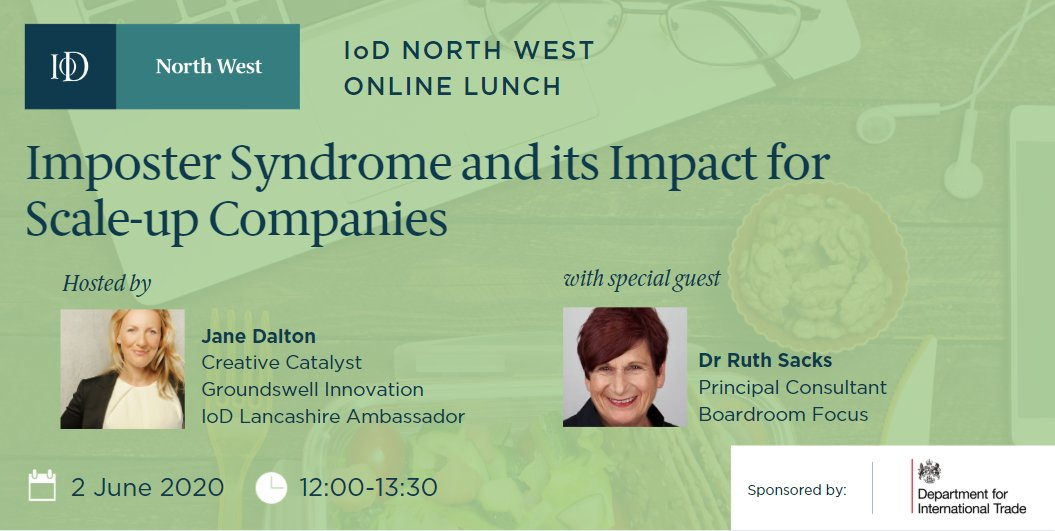 Join us for an online lunch next Tuesday with Insitute of Directors! #inspiringlancashire @BoostInfo