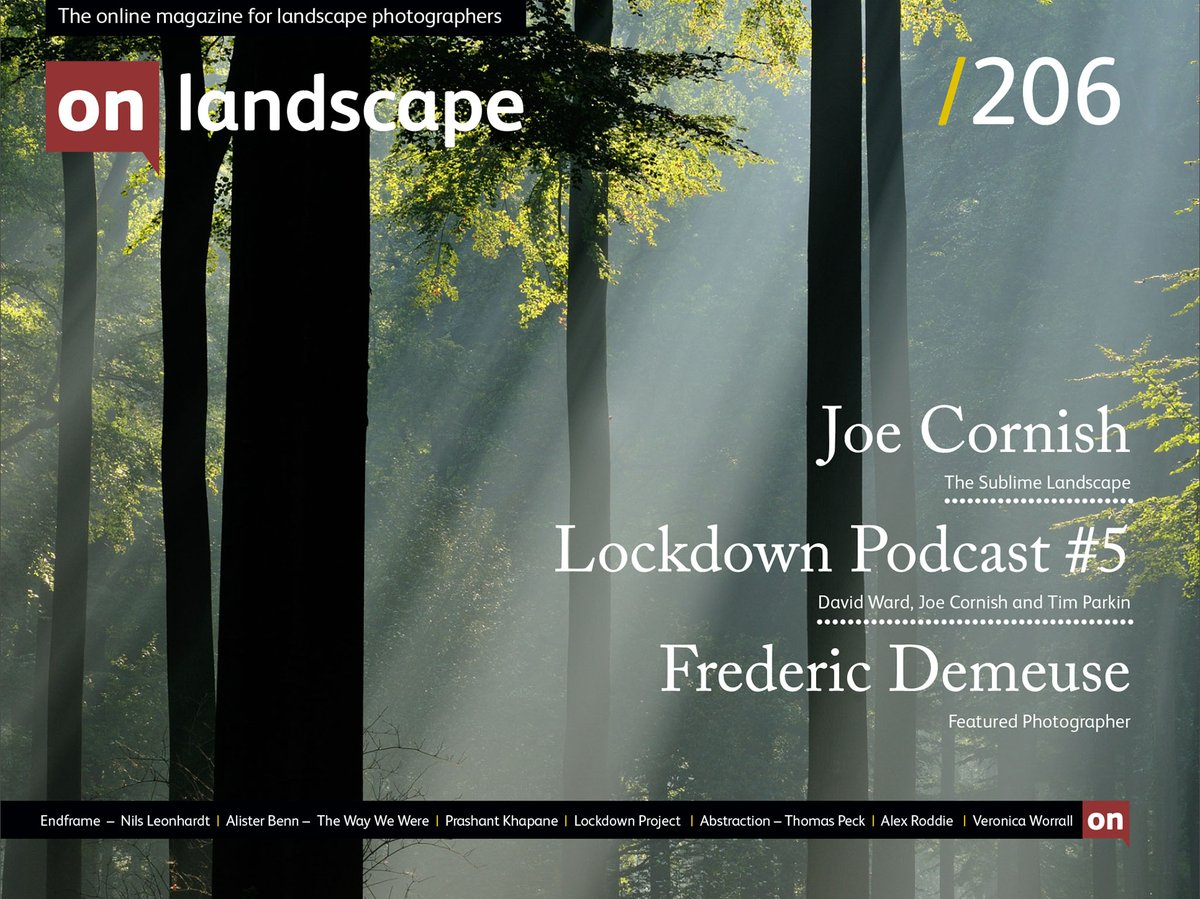 Issue 206 available with contributions from @DavidWardPhotos @alex_roddie @AlisterBenn @LeonhardtNils & others http://ow.ly/idVA50zNx5O  #landscapephotography #photography #outdoorphotography #creativity #podcastspic.twitter.com/YaUoMlWIXZ