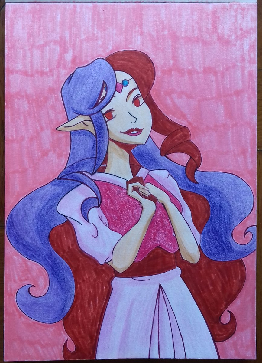 This was my entry for @_rottencandyapples #dtiyschallenge on Instagram.   #princessHilda #casualstyle #dtiys #artistontwitter #traditionalartpic.twitter.com/a8Koe5T5VZ