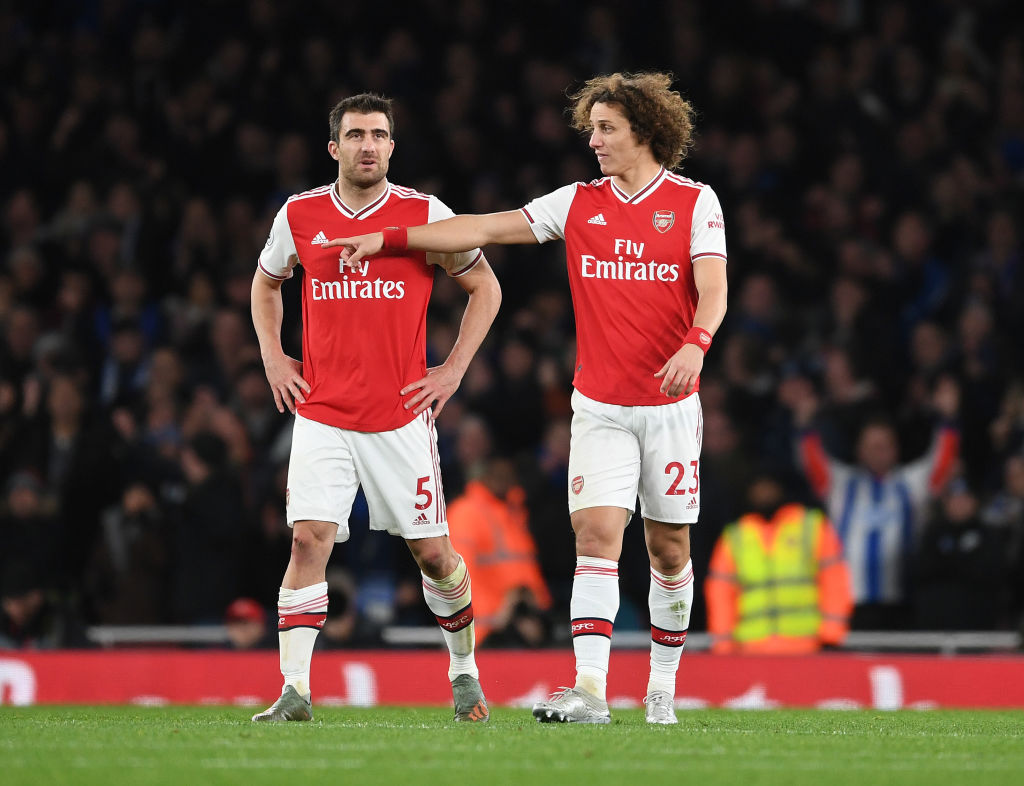 David Luiz's brief spell at Arsenal could be coming to an end with the Brazilian out of contract next month and no negotiations over a new deal planned. [Sky]