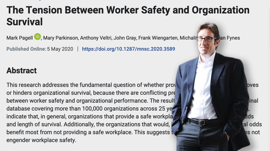 🥽🦠 UCD expert calls for COVID-19 safety incentives for businesses to help better protect workers 👉 bit.ly/2zyudlu 📑 The study found that companies that provided safer workplaces to staff and customers were more likely to go out of business than those that did not