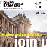 """Image for the Tweet beginning: Join us for a """"Drucker"""
