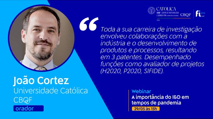 João Cortez, trabalha em gestão de ciência há 8 anos, tendo participado como Investigador e ....