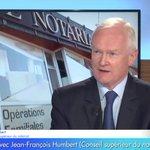 Image for the Tweet beginning: #Immobilier   Jean-François Humbert, @President_CSN,