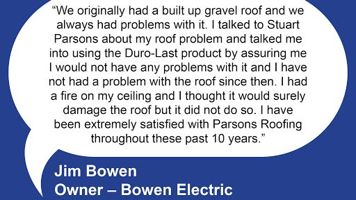 We  our customers and they  us! #parsonsroofing  #customerservice #roofing pic.twitter.com/gpxmL9fUSc