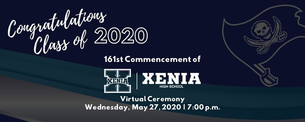 Make sure you know how to watch tonights virtual graduation! Options for online or via public access television, so visit the Graduation 2020 page: buff.ly/3c9e4Aa #classof2020 #XHS #XeniaHighSchool