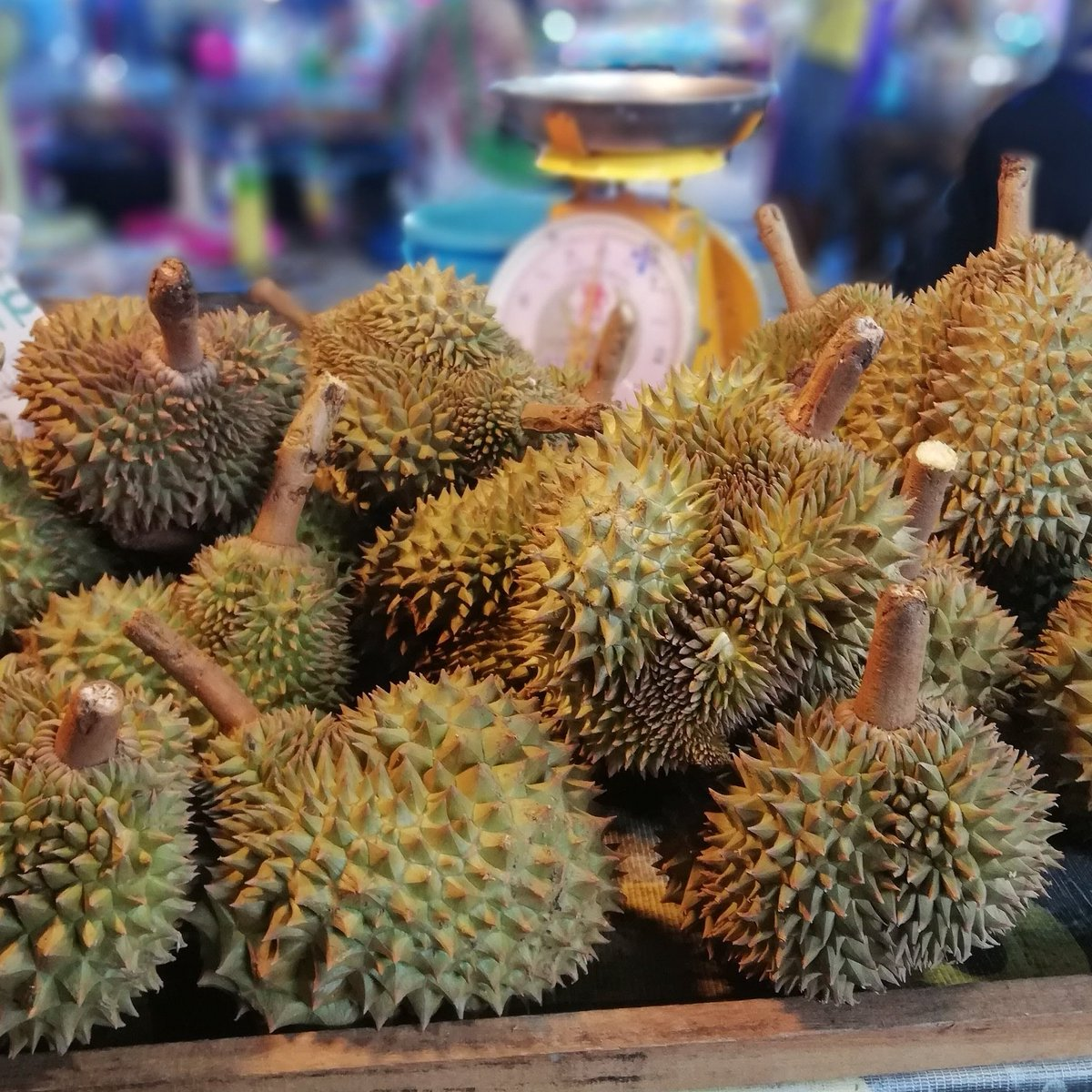 We might be in partial lockdown but it's great to see Durian season in full swing. It's one of those things you must try when in Thailand.  We think it gets a bad wrap as everyone talks about the smell. if you eat it fresh & in season, the smell is insignificant. #Thailand pic.twitter.com/viRIsYIpHj