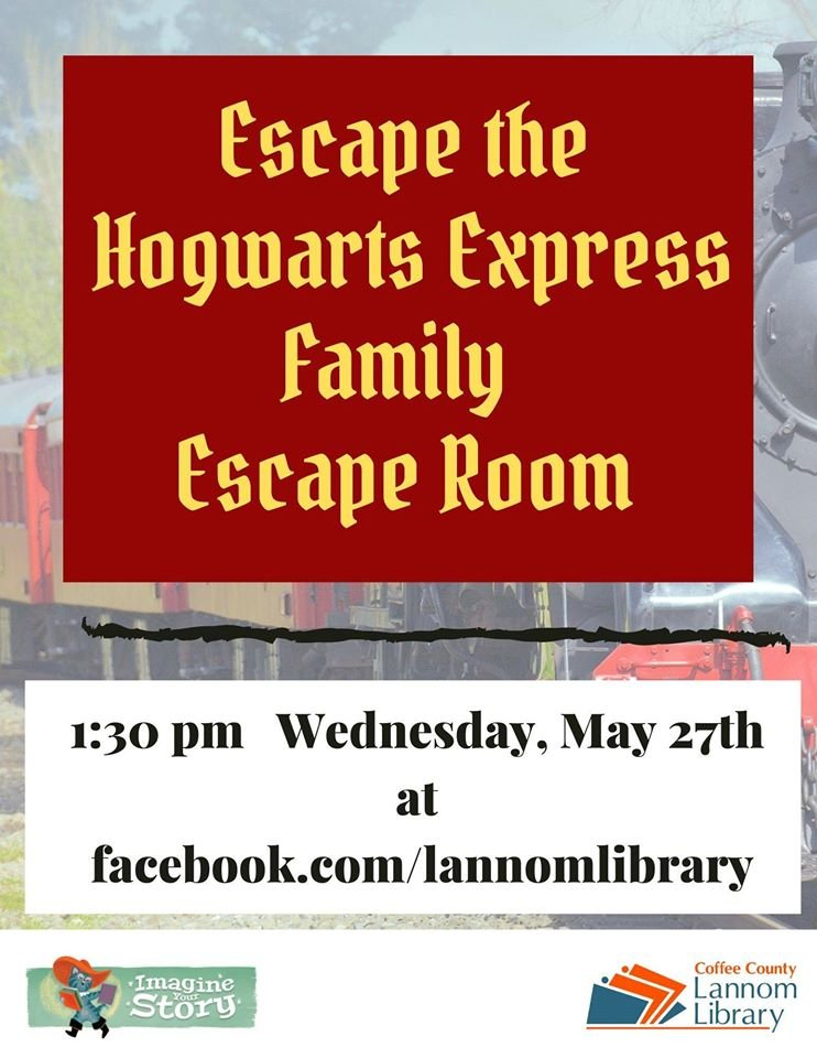 Join us in the all-digital escape room! Link to be posted at 1:30 pm on Wednesday, May 27th. You will receive a secret code to enter in your Readsquared app to let us know you attended and enter to win a prize. Here is the link for the escape room: https://t.co/UYi0tgnHY8 https://t.co/vIZM9t3uNa