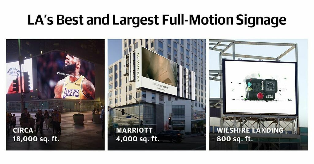 LA's best and largest full motion billboards - -  #ooh #outdooradvertising #iconicmedia #fullmotion #dooh #highresolution #ktown #ktownla #dtla #staplescenter #financialsistrict #fashiondistrict #broadwaydistrict #lakers #nike #burberry #gopro #kevani #k… https://instagr.am/p/CAsz_KaD0KX/ pic.twitter.com/oSa8UeTc7m