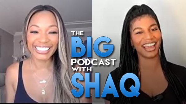 two of the most impressive women in sports media joined us on the @Shaqcast the last couple weeks - check out the amazing @CariChampion and @TaylorRooks - https://t.co/hprKn6S1sY https://t.co/t1Fy9egA6K