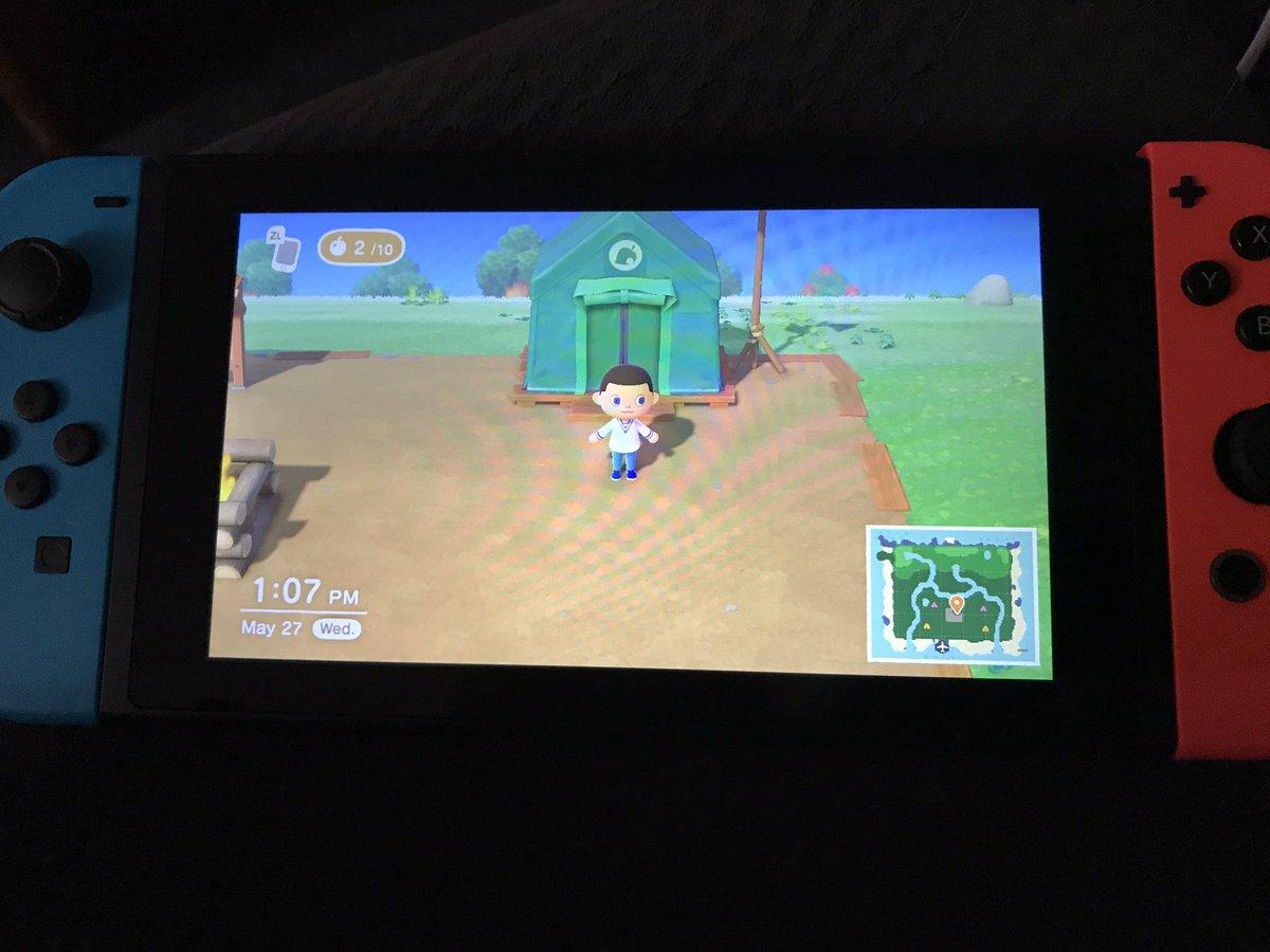 Never thought I be playing this game but man is @animalcrossing addictive lol #NintendoSwitchOnline #Nintendo #AnimalCrossingNewHorizons
