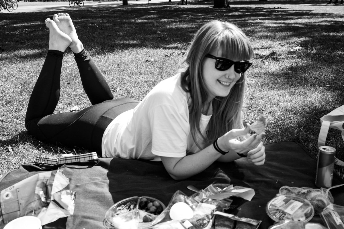 Picnicking in park with my good mate @RhiannonJudithW. Thanks to the glorious spring weather, socialising one-to-one again is a joy. Londoners are flocking back to their green spaces, which are about to get even busier as summer arrives. instagram.com/sebastianepayne