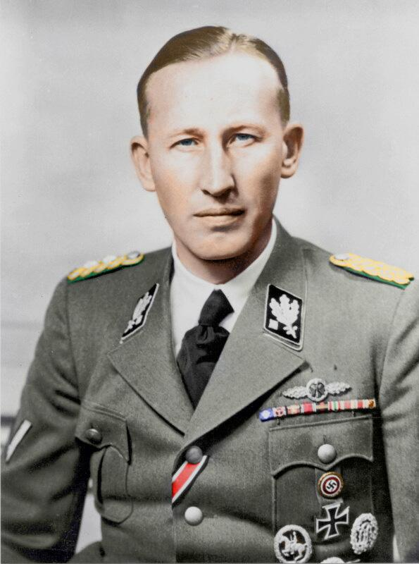 "Assassins strike at the ""Butcher of Prague"": 2 Slovakian guerillas, sent by the Czech government-in-exile, have ambushed Reinhard Heydrich, second-in-command of SS & head of the Nazi occupation of Czechoslovakia. <br>http://pic.twitter.com/OY7huhqXfb"