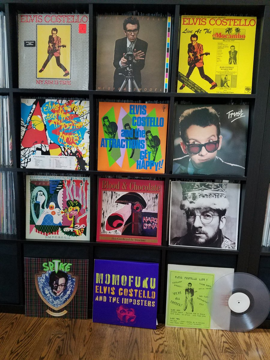 Yeah I'm a bit of an @ElvisCostello fan. Not going to list all these, and it doesn't include the eight @MFSL of his - those will come later #vinyl #vinylcollection #vinylrecordspic.twitter.com/1jqJIlUonm