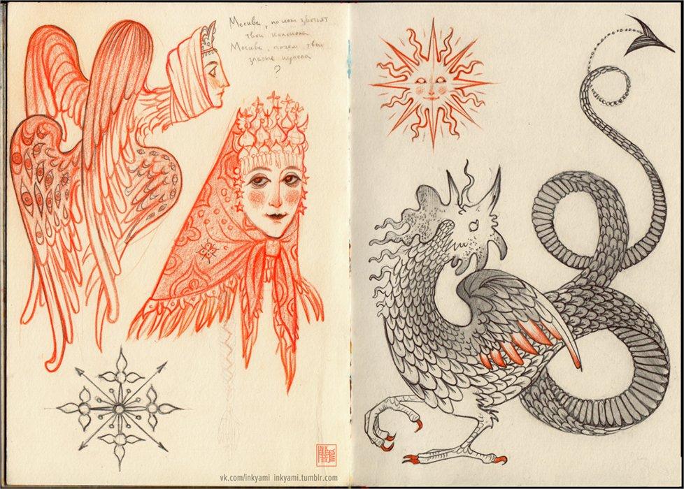Semi-slavic monsters for future art #ArtistOnTwitter <br>http://pic.twitter.com/7fggCn6XeG