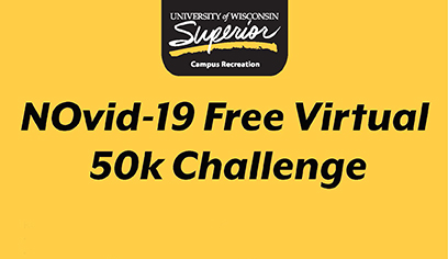 What a beautiful day! Ready to get outside? UW-Superior's Campus Recreation hosting the free NOvid-19 Virtual 50K Challenge. Individuals completing the challenge will receive a Campus Recreation water bottle! https://t.co/AQOfPcHcKT https://t.co/MYeCWphASo
