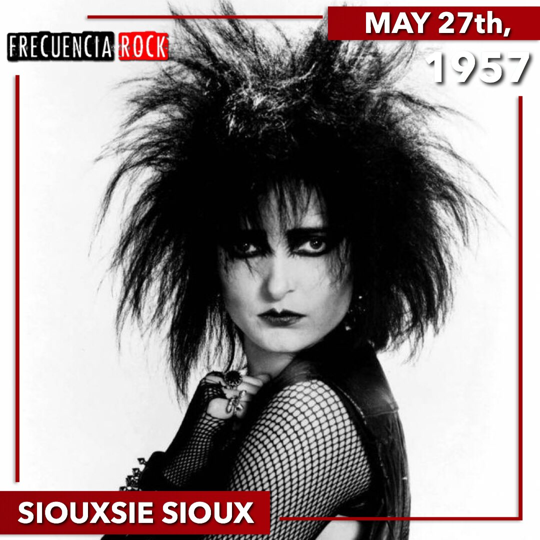 Happy birthday Siouxsie Sioux! • • • • • •  #frecuenciarock #felizcumpleaños #happybirthday #bornonthisday #musician #undiacomohoy #musichistory #efemerides #rocknroll #music #rock #icon #legend #onthisday #artist #photo #didyouknow #siouxsieandthebanshees #siouxsiesiouxpic.twitter.com/vVg4ZD1gRk