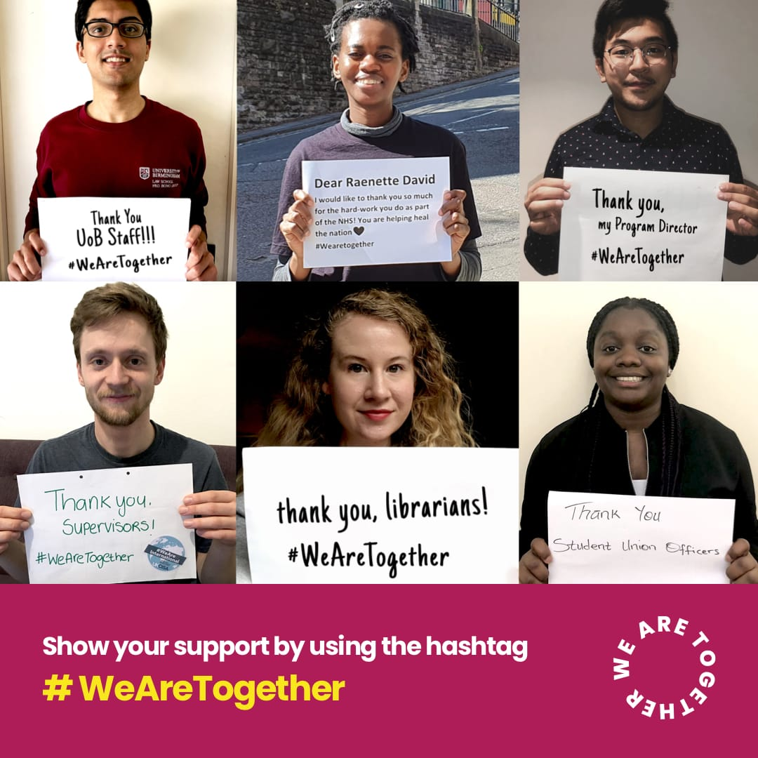 Vivienne Stern from @UUKIntl joins the panel in our #TSRAnswers event tomorrow at 4pm. @UUKIntl are running an amazing Instagram campaign #WeAreTogether to offer advice and support to international students in these trying times. Be sure to check it out! bit.ly/we-are-togethe…